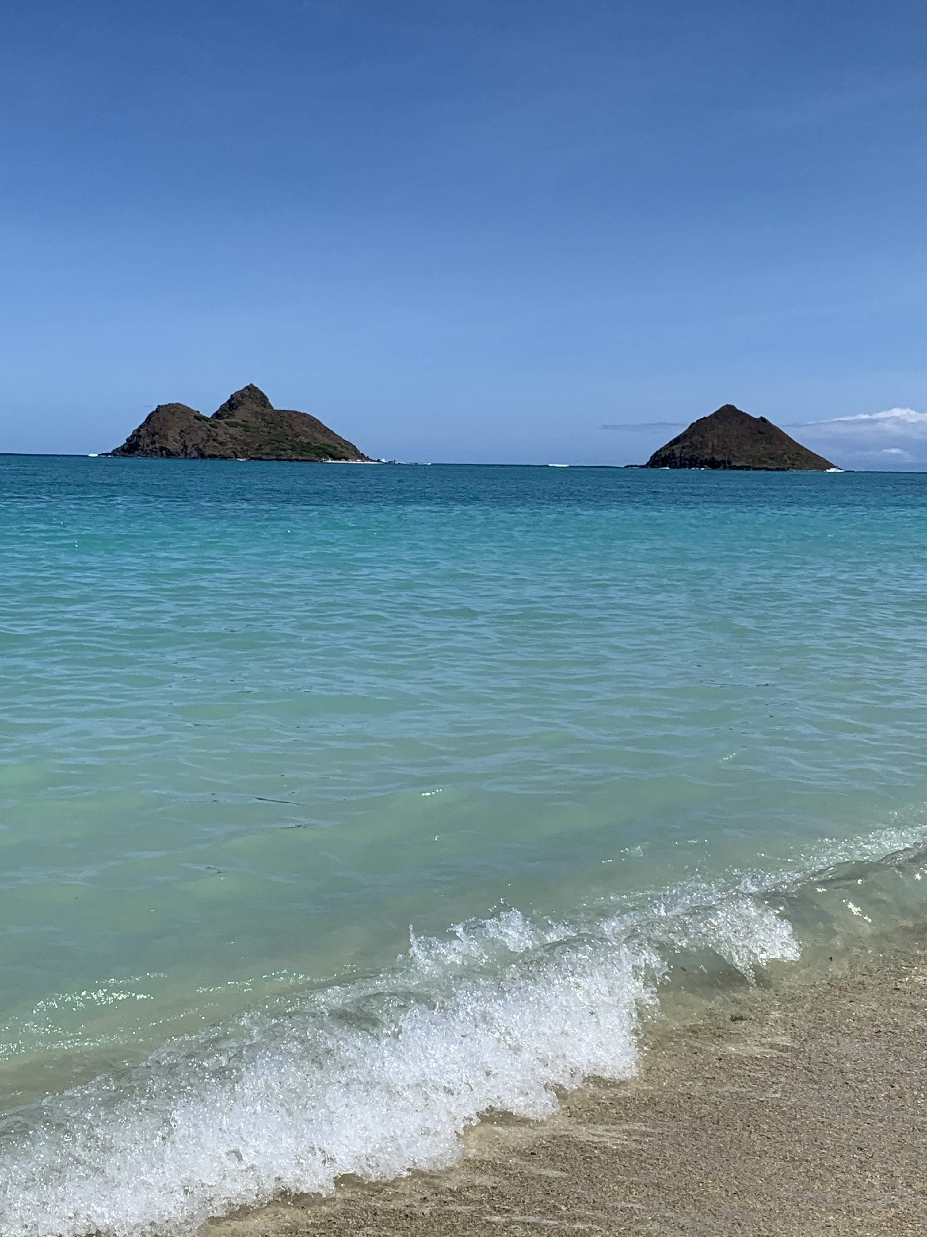 Lanikai Pillboxes:Beach 154
