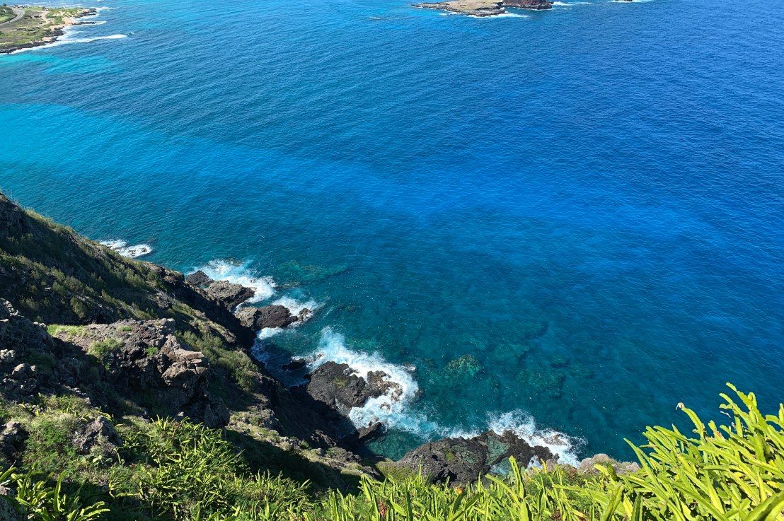 hiking the easternmost point ofo'ahu